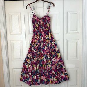 Betsey Johnson long floral dress